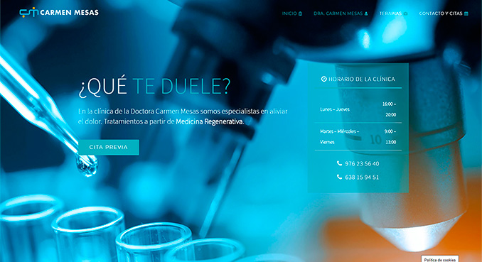 DOCTORACARMENMESAS WEB